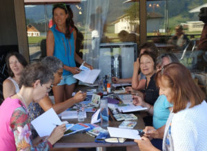 Sylvie Rossignol - Carnettiste et formation carnet de voyage